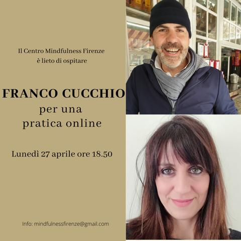 Meditazione gratuita online con Franco Cucchio